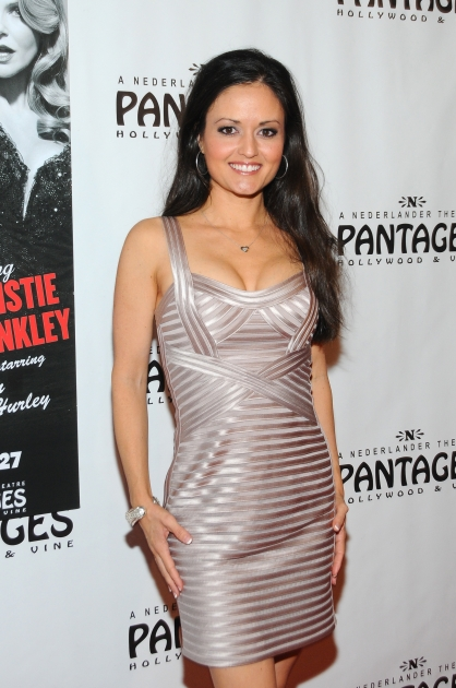 Danica McKellar arrives at the opening night of 'Chicago' at the Pantages Theatre, Los Angeles, on May 16, 2012 -- Getty Premium