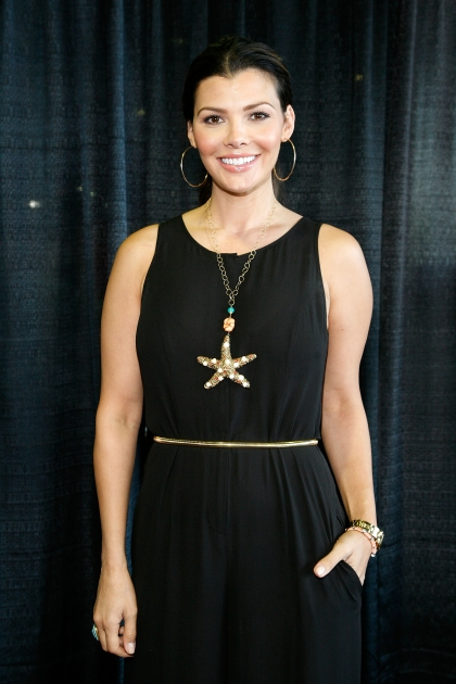 Ali Landry attends the 2012 New York Baby Show at Pier 92 on May 19, 2012 -- Getty Premium