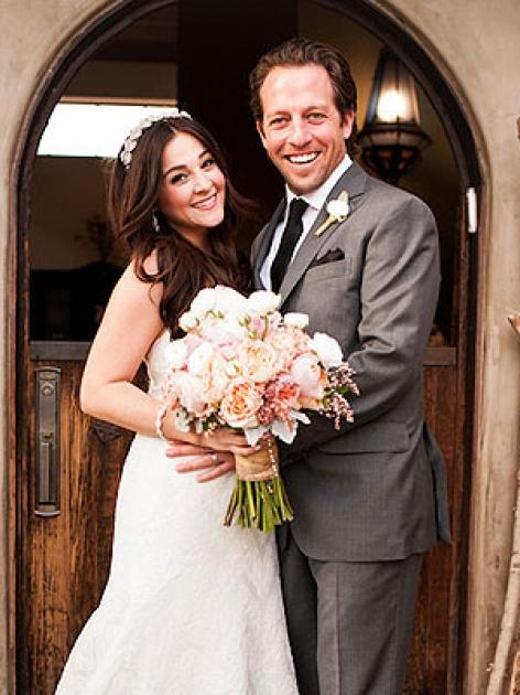 Alisan Porter and Brian Autenrieth -- Jesse Weiner Photography