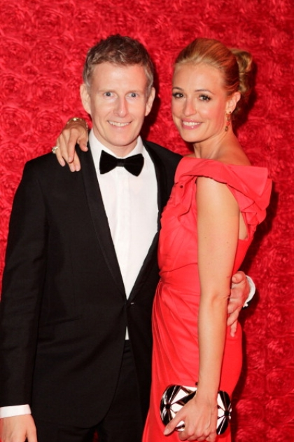 Cat Deeley and Patrick Kielty attend the 64th Primetime Emmy Awards Governors Ball at Los Angeles Convention Center on September 23, 2012 in Los Angeles -- Getty Images