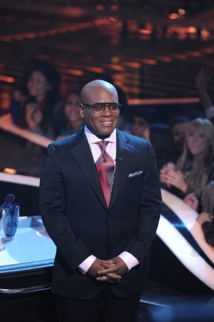 L.A. Reid during 'The X Factor' Season 2 finale, Dec. 20, 2012 -- FOX