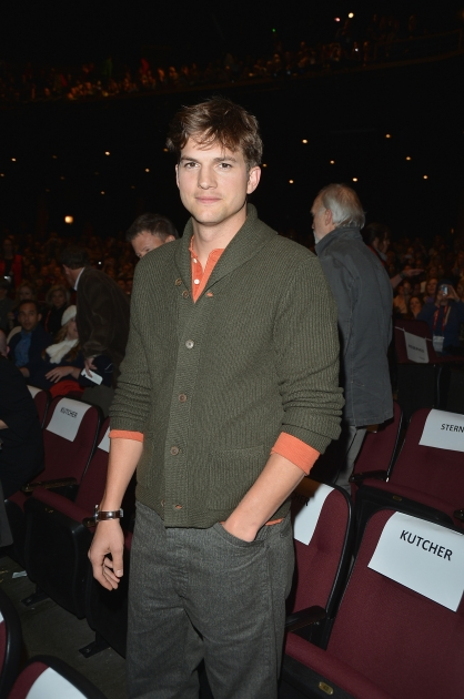 Ashton Kutcher attends the 'jOBS' Premiere during the 2013 Sundance Film Festival at Eccles Center Theatre on January 25, 2013 in Park City, Utah -- Getty Images