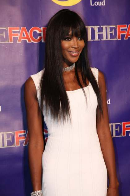 Naomi Campbell attends 'The Face' premiere party and Upfront 2013 in New York City, Feb. 5, 2013 -- NBC