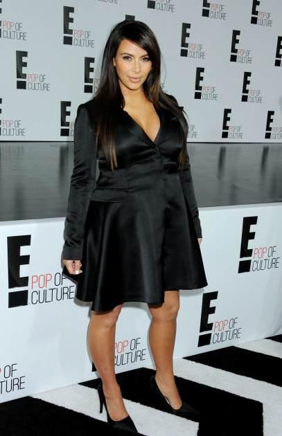 Kim Kardashian attends the E! 2013 Upfront at The Grand Ballroom at Manhattan Center on April 22, 2013 in New York City -- Getty Premium