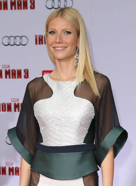 Gwyneth Paltrow attends the premiere of Walt Disney Pictures' 'Iron Man 3' at the El Capitan Theatre on April 24, 2013 in Hollywood, Calif. -- Getty Premium