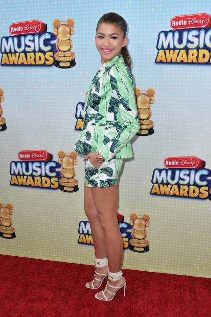 Zendaya hits the red carpet at the 2013 Radio Disney Music Awards on April 27, 2013 in Los Angeles -- Getty Images
