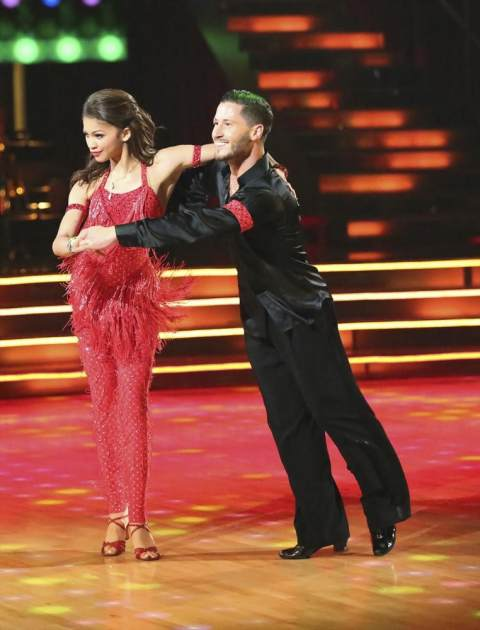 Zendaya and Val Chmerkovskiy perform on the 'Dancing' finals, May 20, 2013 -- ABC