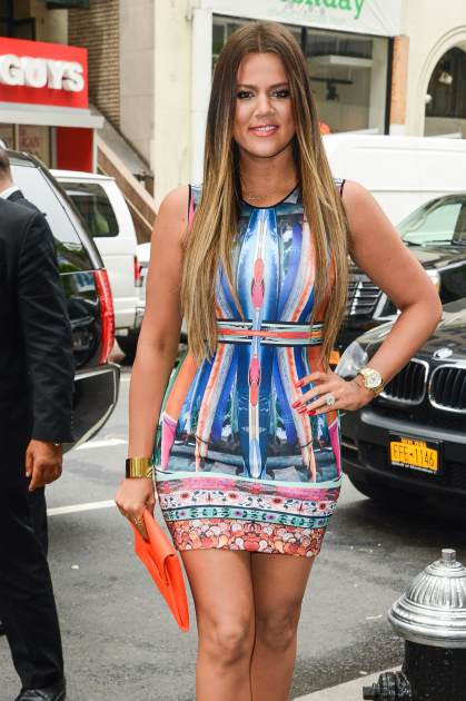 Khloe Kardashian is seen on May 29, 2013 in New York City -- Getty Premium