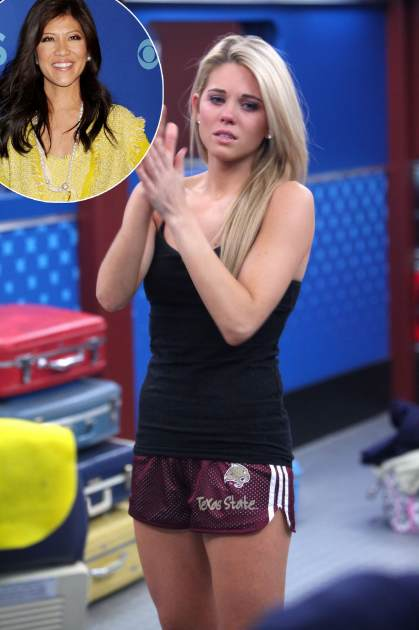 'Big Brother' houseguest Aaryn Gries / host Julie Chen -- CBS