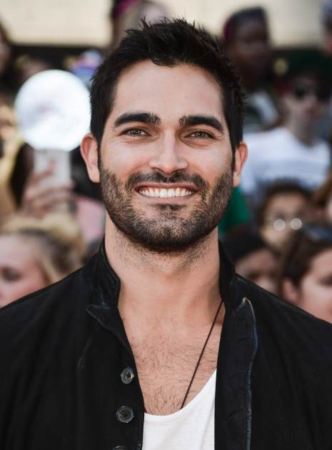 Tyler Hoechlin arrives at the 2013 MuchMusic Video Awards at MuchMusic HQ on June 16, 2013 in Toronto -- Getty Premium