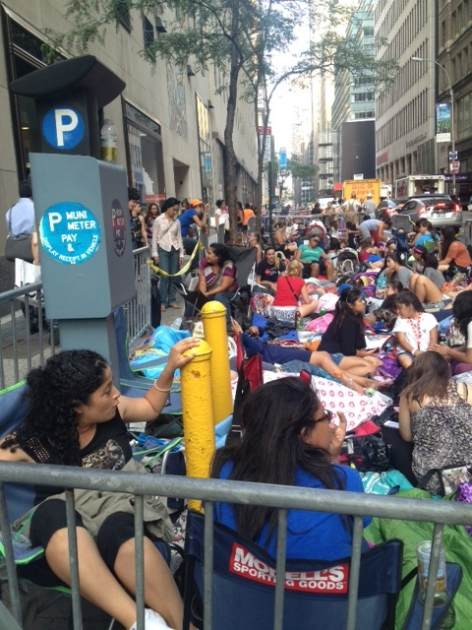 One Direction fans camped out the band's 'Today' show performance -- Access Hollywood