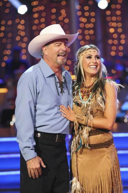 Bill Engvall and Emma Slater perform on Season 17 of 'Dancing' -- ABC