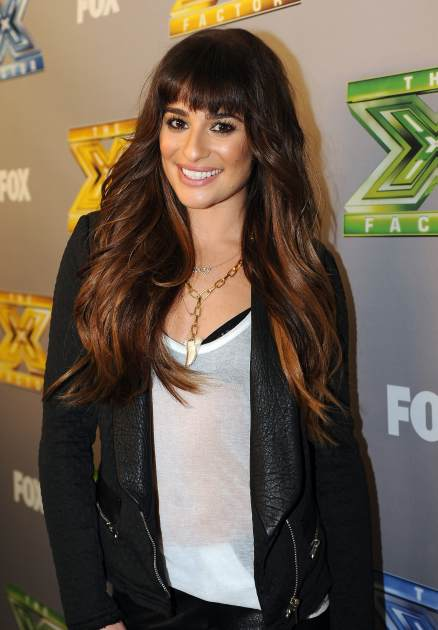Lea Michele attends Fox's 'The X Factor' Season 3 Top 3 Live Finale Performance Show on December 18, 2013 in Hollywood, Calif. -- Getty Images
