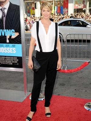 Jenna Elfman Books 'Royal Pains' Visit (Exclusive)