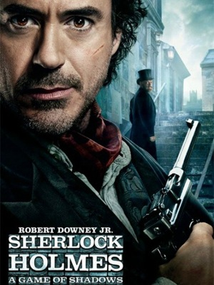 Robert Downey Jr. in 'Sherlock Holmes: A Game of Shadows' Posters