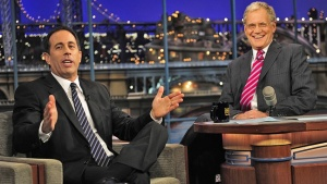 Jerry Seinfeld Debuts 5 Minutes of New Material on 'Late Show'(Video)