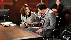 Emmys Set Visit: THR in Court With 'The Good Wife' (Photos)