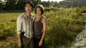 7 Days of 'Walking Dead': Steven Yeun, Lauren Cohan on Glenn and Maggie's Rough Road Ahead
