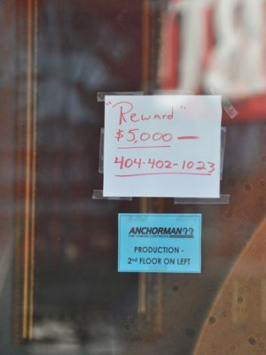 'Anchorman 2' Offices Robbed; Reward Offered for Information
