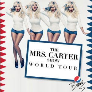 Beyonce Goes Blonde for Mrs. Carter Show Promo