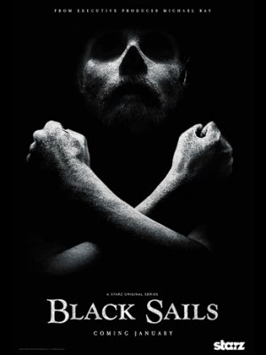 Ahoy: Preview the Key Art for Starz's Pirate Drama 'Black Sails'
