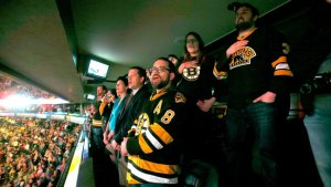 Boston Bruins Fans Sing Emotional National Anthem (Video)