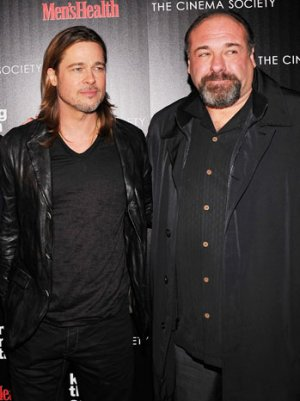 Brad Pitt on James Gandolfini: 'I Am Gutted by This Loss'