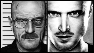 'Breaking Bad' Fan Gives Lifelike Drawings to Show's Stars (Photos)