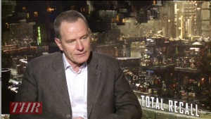 'Total Recall's' Bryan Cranston on Playing a Villainous Father Figure (Video)