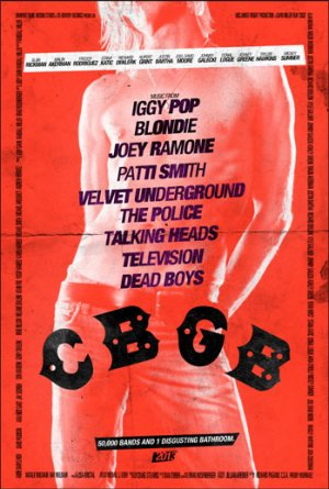 Taylor Hawkins Poses as Iggy Pop on 'CBGB' Poster (Exclusive)