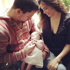 Channing Tatum, Jenna Dewan-Tatum Share First Photo of Newborn Daughter
