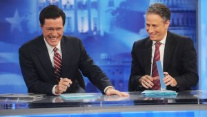 'Daily Show' and 'Colbert' Rip on Pundits and Media in Final Pre-Election Shows (Video)