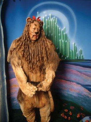 'Wizard of Oz's' Original Cowardly Lion Costume for Sale