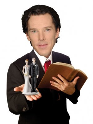 Benedict Cumberbatch Can Now Pronounce You Man and Wife