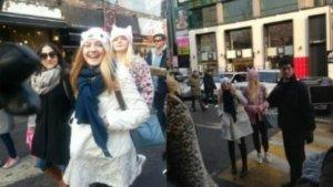 Dakota, Elle Fanning Create Media Frenzy in South Korea