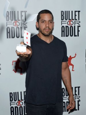 David Blaine Is Set To Get 'Electrified' Right Now