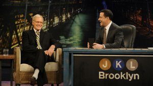 David Letterman Grants Jimmy Kimmel a Lifelong Dream (Video)