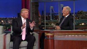 Donald Trump Tells David Letterman He'd Raise $5 Million Offer to Obama (Video)