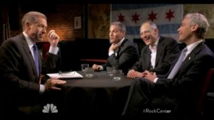 Emanuel Brothers Reminisce, Joke on 'Rock Center with Brian Williams' (Video)