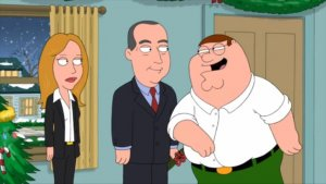 Dana Walden, Gary Newman Holiday Card Transports 20th TV Execs to 'Family Guy' Set (Video)