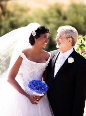 George Lucas' Wife Mellody Hobson Says Wedding 'Was Fun' (Video)