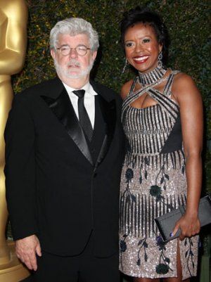 George Lucas Weds Mellody Hobson