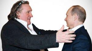 Gerard Depardieu Compares Vladimir Putin to Pope John Paul II