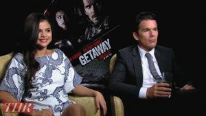 Selena Gomez Learns From Ethan Hawke on 'Getaway,' Gets Into Producing (Video)