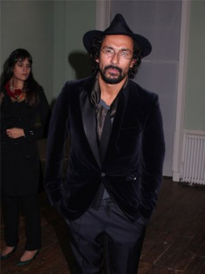 Paris Designer Haider Ackermann Pops Into Mr. Chow