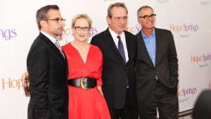 Meryl Streep Calls 'Hope Springs' Co-star Tommy Lee Jones '50 Shades of Grumpy'