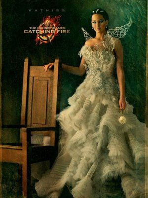 'The Hunger Games: Catching Fire' Character Poster Features Katniss Everdeen Radiant in White