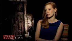 Jessica Chastain, Guillermo del Toro and Co. Go Behind the Scenes of 'Mama' (Video)