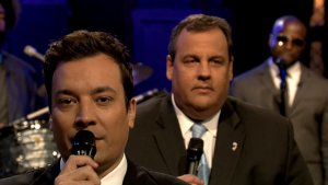 Chris Christie Slow Jams the News on Fallon (Video)