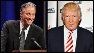 Jon Stewart vs. Donald Trump: Throwaway Joke Devolves Into Name-Calling